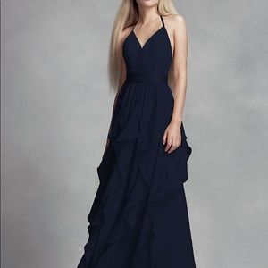 Vera Wang Bridesmaid dress Midnight size 2